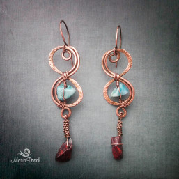 "Infinity earrings 257x257 - Набор ""Бесконечность"""