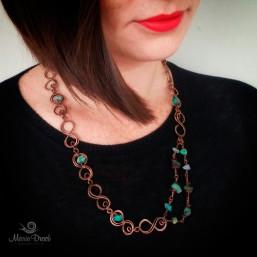 """Infinity necklace 2 257x257 - Набор """"Бесконечность"""""""