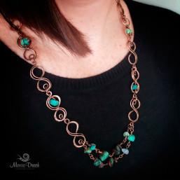 """Infinity necklace 3 257x257 - Набор """"Бесконечность"""""""