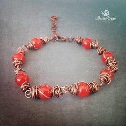Unisex bracelet carnelian 2 257x257 - Браслет Unisex с сердоликом