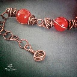 Unisex bracelet carnelian 3 257x257 - Браслет Unisex с сердоликом