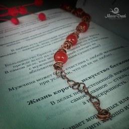 Unisex bracelet carnelian 4 257x257 - Браслет Unisex с сердоликом
