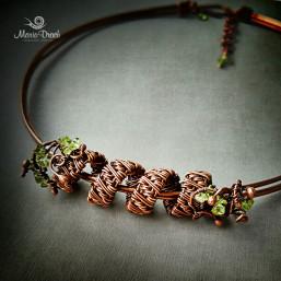 necklace 4 257x257 - Украшение на шею «Женщины, как доброе  вино...»