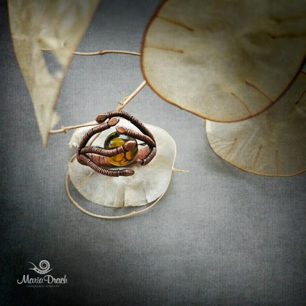 """dragon ring 51 600x600 - Кольцо """"Дар драконов"""""""