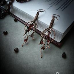 "drop earrings 3 257x257 - Серьги ""Капелька жизни"""