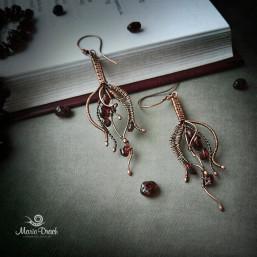 "drop earrings 5 257x257 - Серьги ""Капелька жизни"""