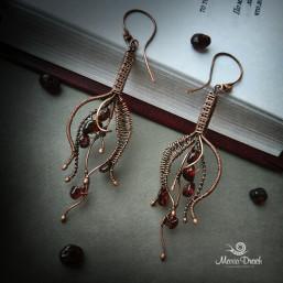 "drop earrings 6 257x257 - Серьги ""Капелька жизни"""
