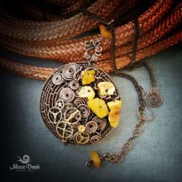 Steampunk pendant 1 257x257 - Медальон в стиле Steampunk