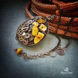 Steampunk pendant 2 257x257 - Медальон в стиле Steampunk