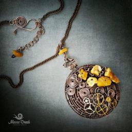 Steampunk pendant 3 257x257 - Медальон в стиле Steampunk