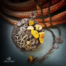 Steampunk pendant 4 257x257 - Медальон в стиле Steampunk