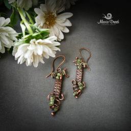 wine earrings 1 257x257 - Серьги «Женщины, как доброе вино...»