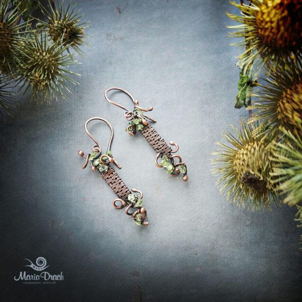 wine earrings 6 600x600 - Серьги «Женщины, как доброе вино...»