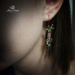 wine earrings 8 257x257 - Набор «Женщины, как доброе вино...»